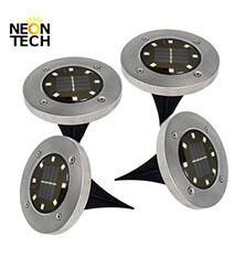 300 Milímetros Painel Solar Powered Luz de Advertência do Tráfego
