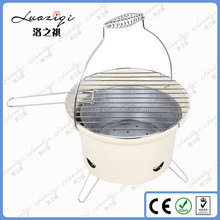 China Cheap Sale Free Standing Round Balcony BBQ Grill for Garden