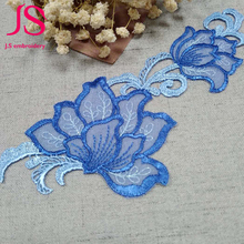8 cm Wedding dress good embroidered lace patches for clothes