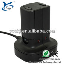 2 x Battery + Quick Play Charger Base Charge Dock Kit For Microsoft Xbox 360