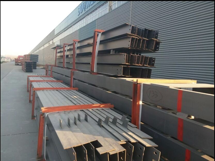 Low Cost Workshop Steel Factory Building
