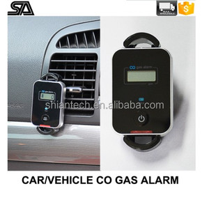 Vehicle CO Gas Alarm/House use CO detector with CO electrochemical Sensor