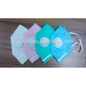 fold-able valved disposable solid dust face mask making machine
