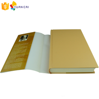 Custom Cheap Factory Price Paper Dust Jacket Round Back Hardcover Book Printing