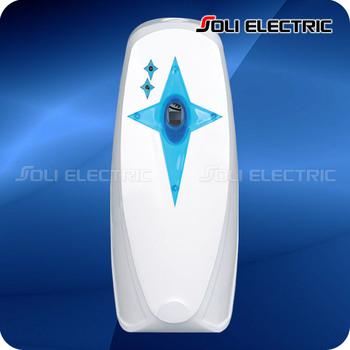 Toilet bathroom automatic electric air freshener dispenser - Automatic bathroom air freshener ...