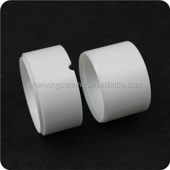 high precision ZrO2 zirconia ceramic piston/ bushing /tube/ pipe /zirconia ceramic sleeve