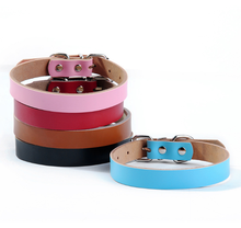 custom lettering logo comfortable cow leather pet collars and leash factory