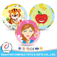 Best selling different types high quality children soft toy baby pvc toy ball