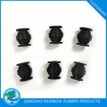 Custom molded vibration isolation rubber damper for car