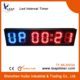 2014 New LED light interval repeat cycle timer for Tabata, Crosfit
