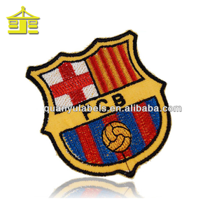 Customized embroidery brand cloth iron on sports custom logo jean slim chinese men's custom embroidery patches