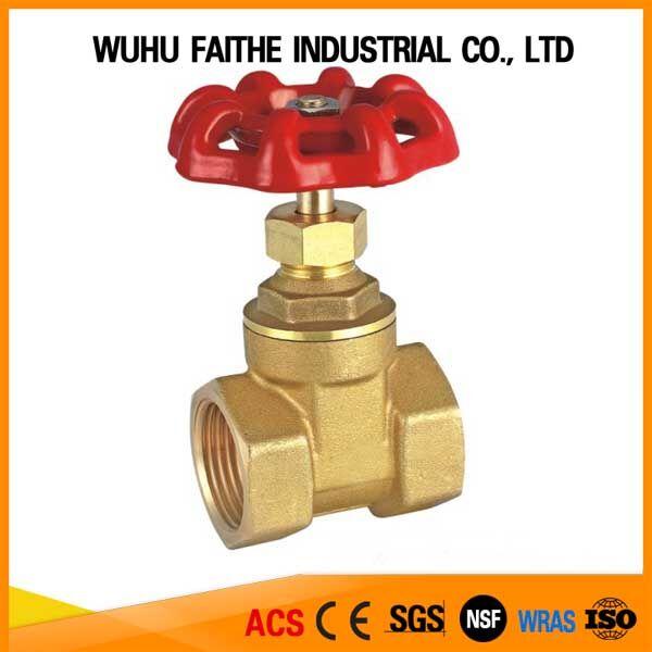 China Supplier High Quality Dn65 21/2 Inch Brass Gate Valve