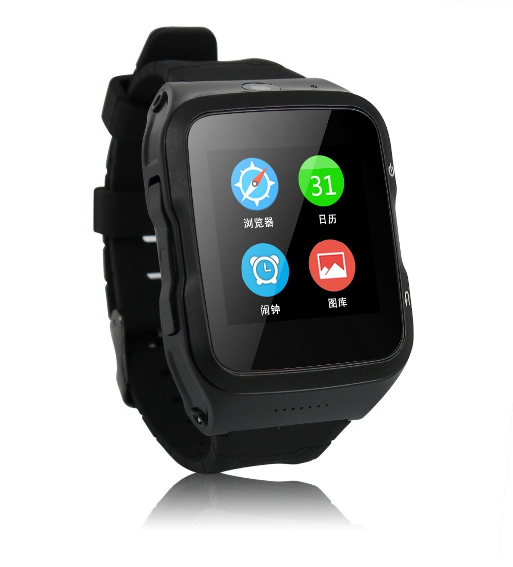 New hot selling S83 3G Android watch smart phone quad core cpu 5MP camera bluetooth 4.0 wifi gps facebook twitter skype