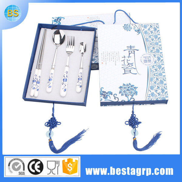 ceramic dinner set manufactory, ceramic dinner set, cutlery with porcelain handle
