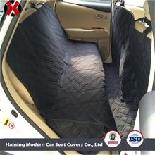 Deluxe Quilted and Padded All Coverage Hammock Waterproof Dog Rear Car Seat Protector Dog Car Seat Cover