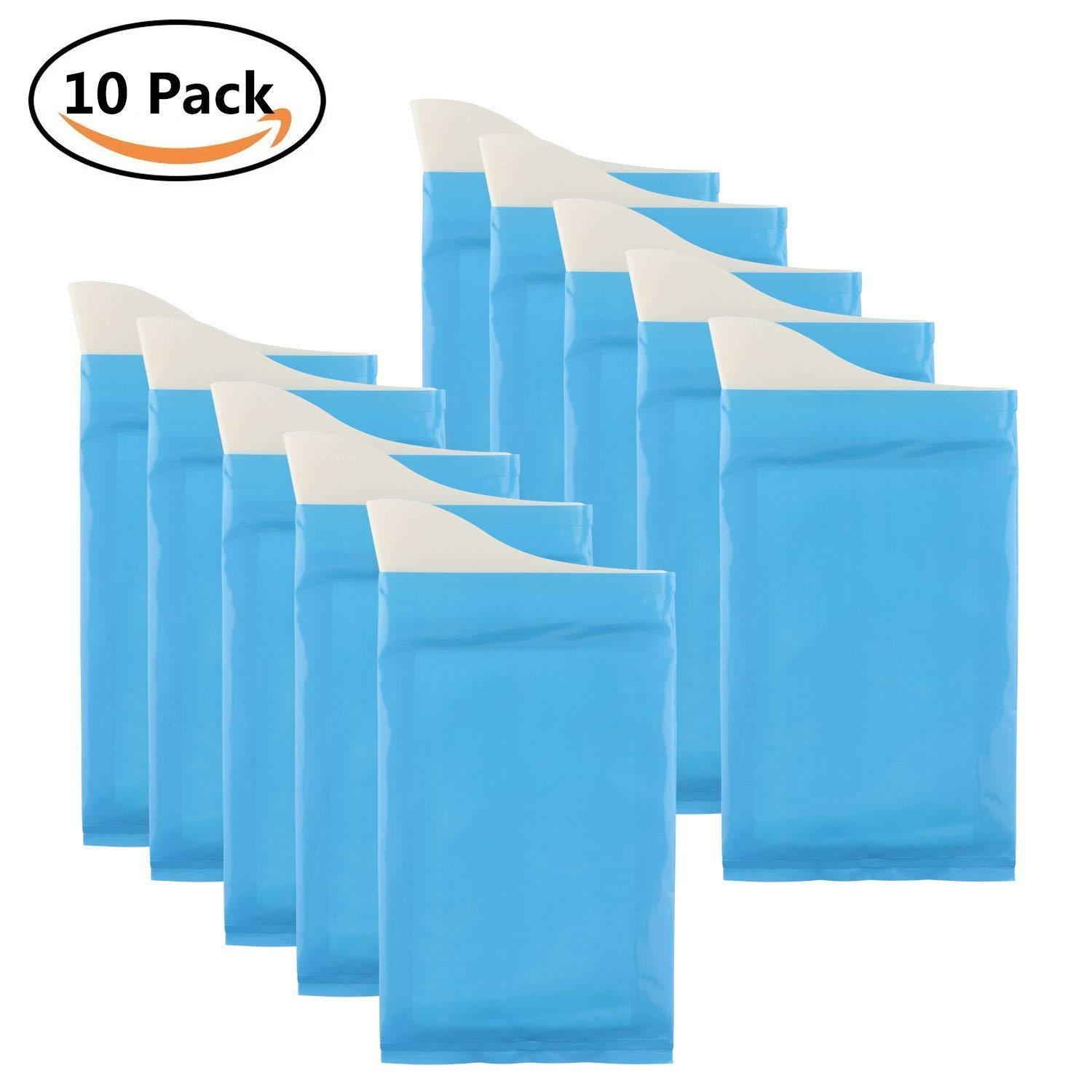 Get Quotations · Disposable Urine Vomit Bags Camping Pee Bags for Travel  Urinal Mini Toilet Super Absorbent Traffic Jam
