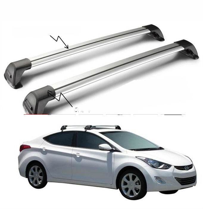Travel & Roadway Product Imported From Abroad New Designed Crossbars For Hyundai Santa Fe Sport Ix45 2013-2017 Baggage Luggage Roof Rack Rail Cross Bar Aluminum