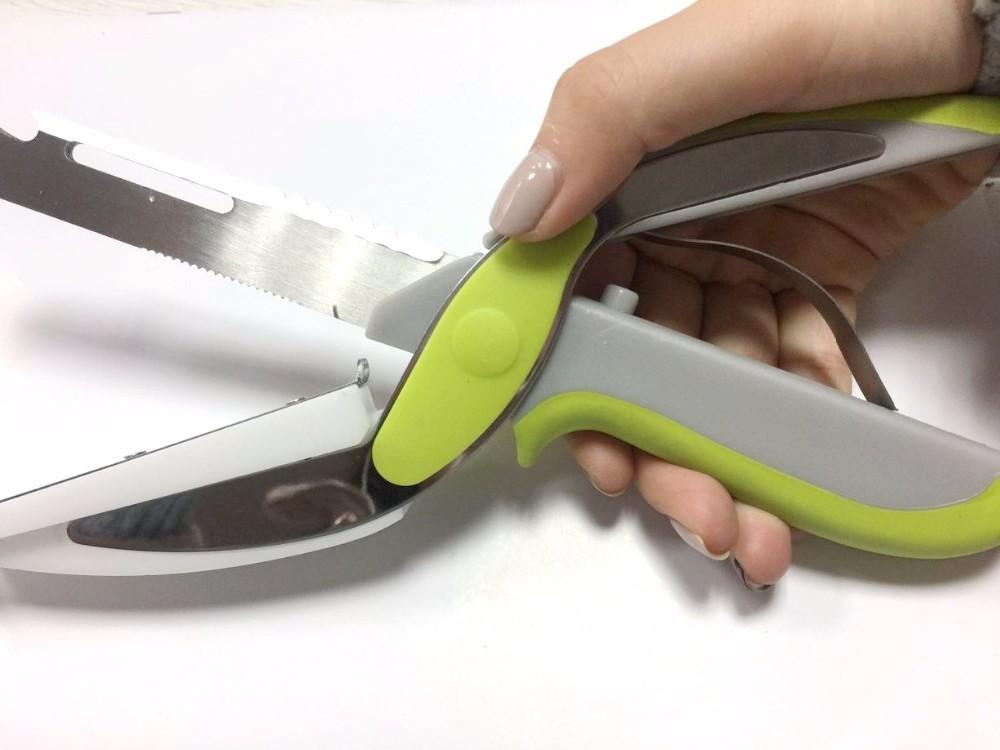 6 in 1 multi clever kitchen cutter smart scissor shear