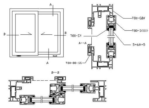 Aluminum Window Details : China product windows aluminum alloy balcony sliding