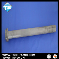 heat and corrosion resistant silicon nitride fill tube