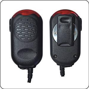 Flashing speaker mic for Kenwood TK-240, TK-250, TK-255, TK-260, TK-260G, TK-270, TK-270G, TK-272G, TK-278,