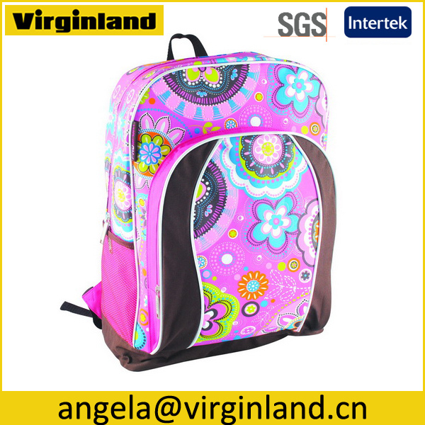 Factory Good Price Fashion School 600D One Strap Backpack For Kids Wholesale