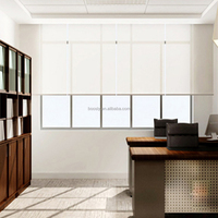 Elegant sunscreen or blackout fabric durable electric roller blinds