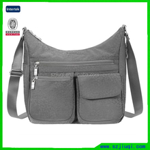 Pain Long Strip Polyester Shoulder Bag
