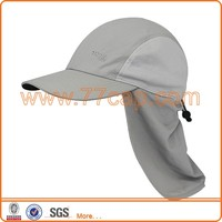 Best Selling Fishing Sports Caps Fitted Hats Caps with EarFlap Hat Patterns