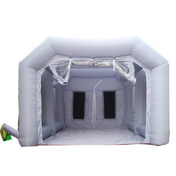 Hot sale mobile inflatable spray booth portable inflatable paint booth for car maintaining