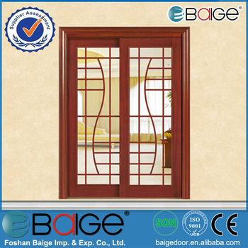 Bg-m513 Wood Windows And Doors/exterior Wood Sliding Doors/solid ...