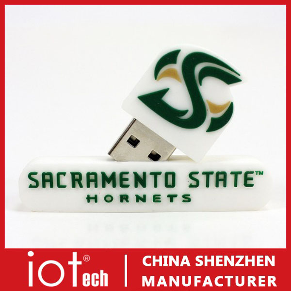 3D Shape Custom PVC USB Flash Drives Cheap Free Download