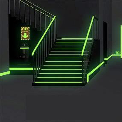 Glow In The Dark Material For Illuminated Exit Signs Self