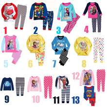 Children Pajama Set Elsa Boys & Girls Clothing Set 2-7 Years Kids Cartoon Pijamas Sets Boys Sleepwear Girls Pyjama Baby Clothes