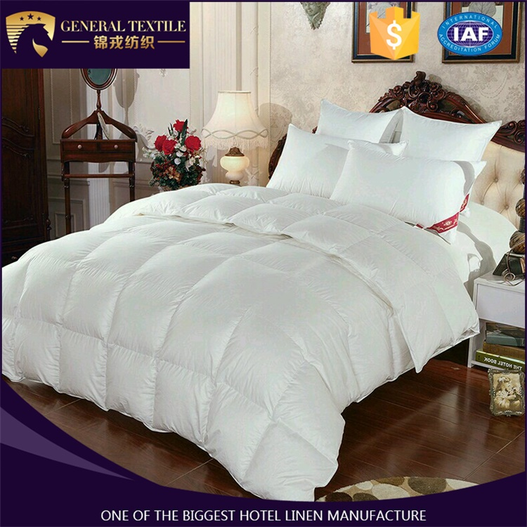 Hot sale 300gsm 90% WDD comforters/quilt/duvet set with double stitched
