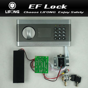 Key storage box lock electronic lock with parts for digital hidden safe box