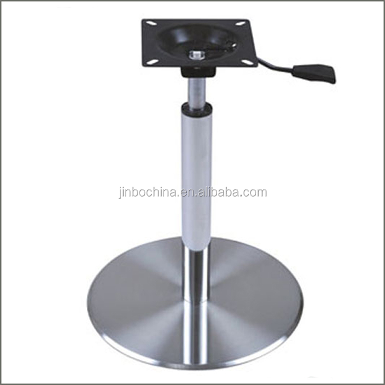 wholesale metal adjustable height table base buy adjustable height rh alibaba com adjustable height restaurant table bases industrial adjustable height table base