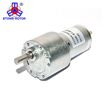 37mm spur gear motor 12v dc gear motor high torque low noise for robotic