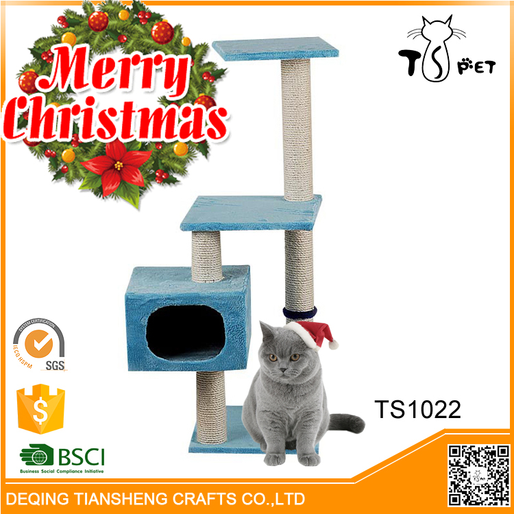 Christmas Decoration Reasonable Price Wholesale Cat Tree For Cats