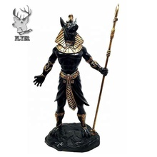 Home Decor Vita Egiziano Anubis In Possesso di Personale di <span class=keywords><strong>Dio</strong></span> di Aferlife e Morto Inpu Statue di Commercio All'ingrosso