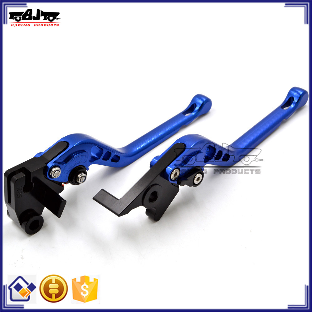 BJ-LS-014 lever Aluminum 3D Blue Clutch brake lever for Aprilia RSV4 2009-2015