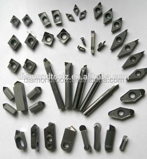 Turning inserts for cylinder bore cutting tools for lathe