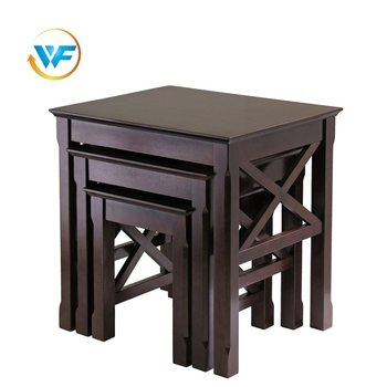 Save space dustproof sturdy End Wooden Small Coffee Table