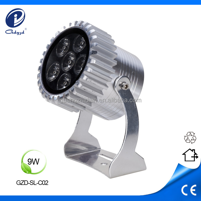 waterproof 9W decorative mini led recessed spotlights outdoor