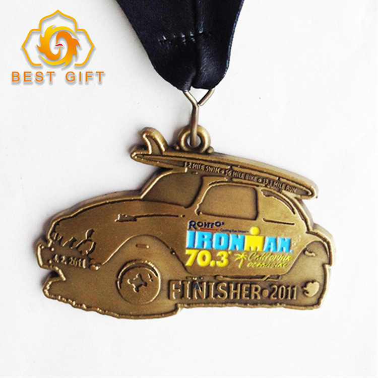 Custom wholesale cheap price Judo logo 3D sport honor commemorative metal award Medal