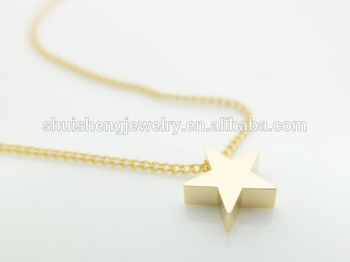 Latest design saudi gold jewelry fashion gold star pendant latest design saudi gold jewelry fashion gold star pendant necklace mozeypictures Image collections