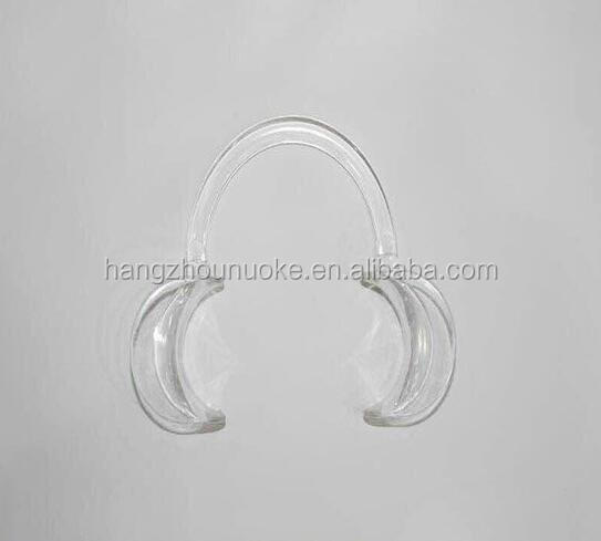 Orthodontic cheek retractor clear