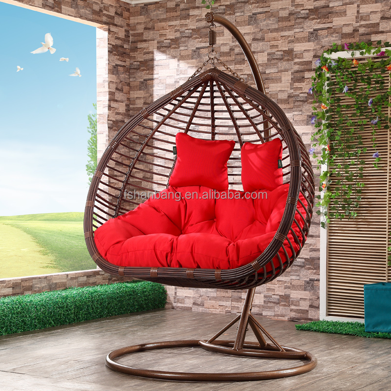 Hanging Chair Swing Chair Hanging Pod Chair View Outdoor Garden Wooden Swing Chair Love Rattan Product Details From Foshan Hanbang Furniture Co Ltd On Alibaba Com