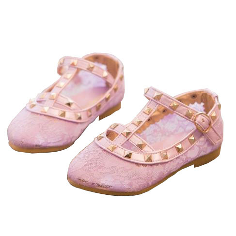 2015 Brand New Summer Girls Shoes Cut-Outs Girls Sandals Lace Revit Baby Princess Party Girl Shoes Buckle T Kids Sandals 4 Color