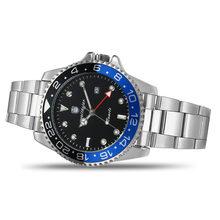 2019 Швейцарский календарь дисплей Rolexable люксовый бренд GMT мужские часы спортивные модные кварцевые часы Herren uhren(Китай)